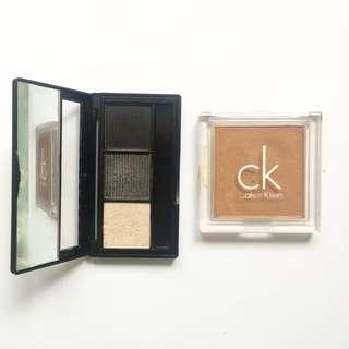 Calvin Klein Blush Bronzer And Eyeshadow Bundle