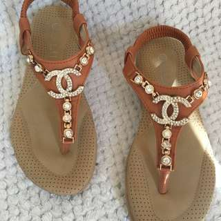 Womens Chanel Sandals