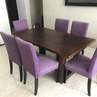 Full Teak Table Bought At 1800