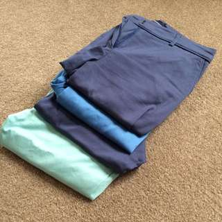 4 X Glassons Pants Size 6 Never Worn RRP $160