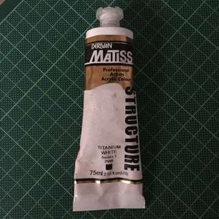 Matisse Professional Artists Acrylic Colour (white)