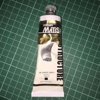 Matisse Professional Artists Acrylic Colour (graphic Grey)