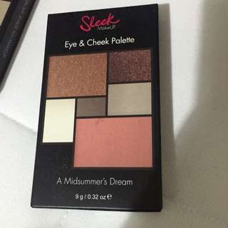 Sleek Eye&cheek Palette  A Midsummer's Dream AUTH BNIB