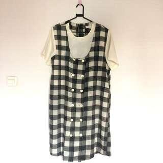 B/W Vintage Dress