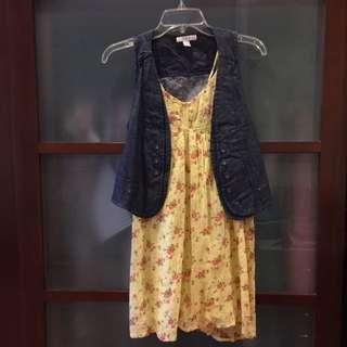 Magnolia Set Dress And Vest