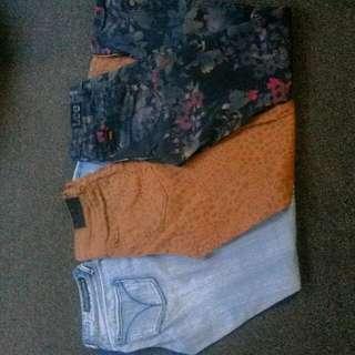 3 x Skinny Jeans