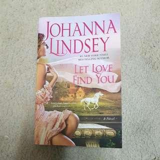 Johanna  Lindsey - let love find you