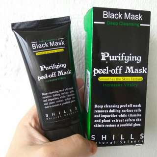 Shills Natural Sciences Peel Off Black Mask