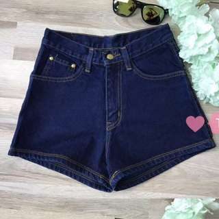 High Waisted Denim Jeans Shorts