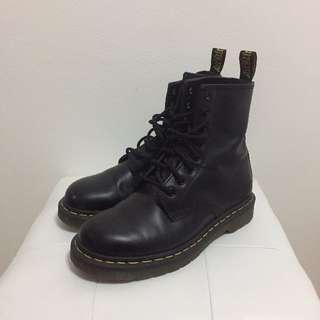 Dr Martens Black 1460 8-Eye Boot Shoe Size 37 EU
