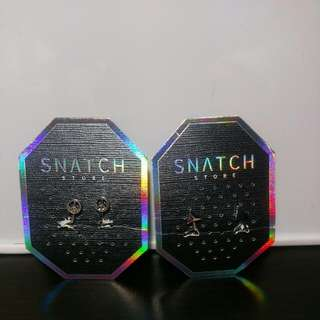 便宜賣!!!!!SNATCH耳夾 小三角形/小和平