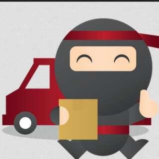 ekspedisi ninja xpress. pengiriman paket secepat ninja. ala ninja
