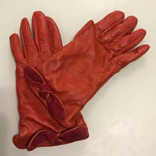 Furla Genuine Leather Gloves