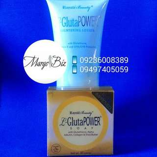 Royale Lotion And L-GlutaPower Facial Soap