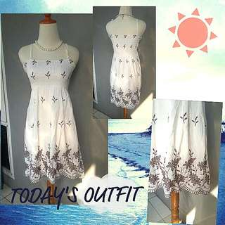Flower Dress - S to M