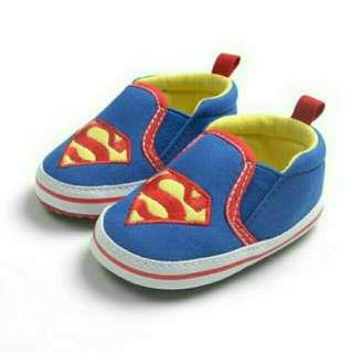 Superman Infant Soft Sole Shoes
