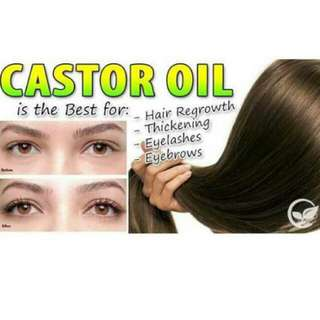 Pure Castor Oil in a 50ml bottle -- P120.00 only