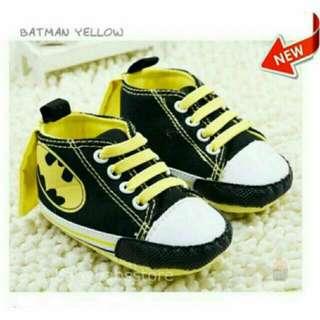 Batman Highcut Infant Soft Sole Shoes