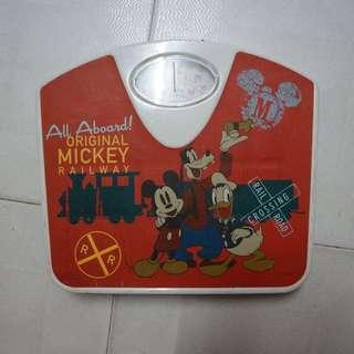 Mickey Mouse 浴室磅