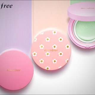 (NEW) Innisfree No Sebum Correcting Cushion!