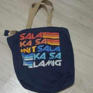 Blue Artwork Bag!
