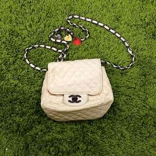 Faux Chanel Side bag