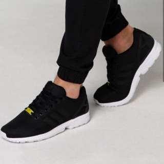 ZX Flux Sneakers In Black