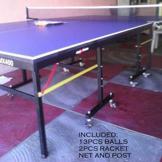 MAXPRO TABLE TENNIS WITH WHEELS