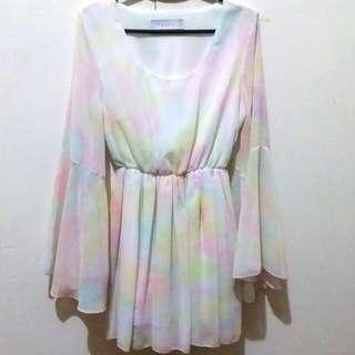 Pastel Flowy Dress
