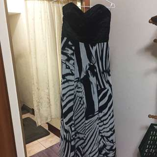 Strapless Maxi Dress Brand New Size M