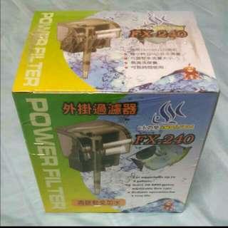 水族箱外掛式濾水器
