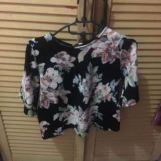 Newlook Flower Top
