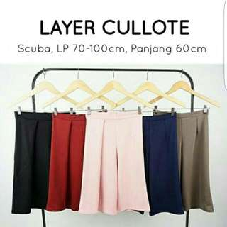 1 Side Layer Cullote