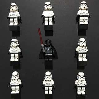 Self-made Star Wars Lego Frame