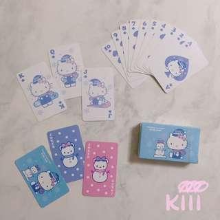 長榮航空 Hello Kitty機限定撲克牌