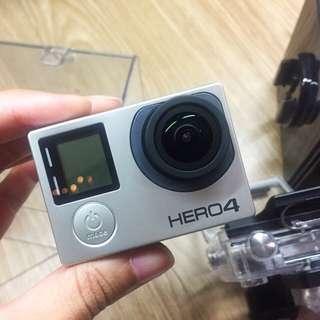 GoPro Hero 4 Black - Pristine Condition