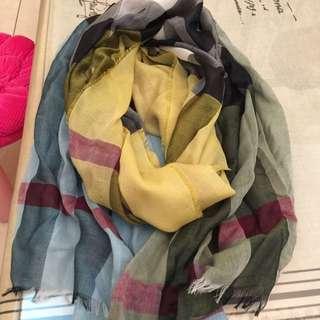 全新正品Burberry圍巾