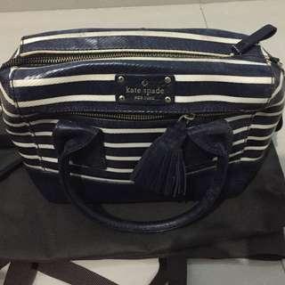 Kate Spade Sling bag Blue Stripes