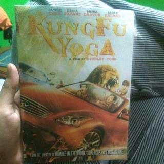 dvd kungfu yoga. film terbaru jackie chan
