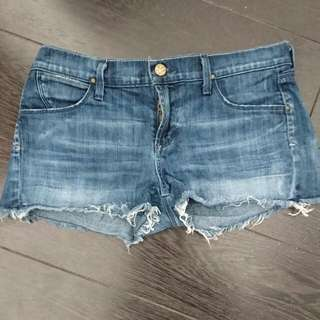 Citizens Of Humanity Denim Cut Off Short Shorts