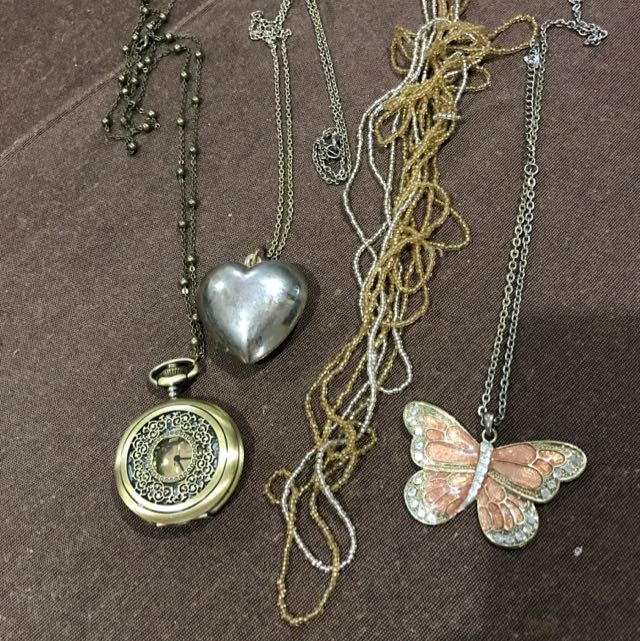 4 Long Necklaces