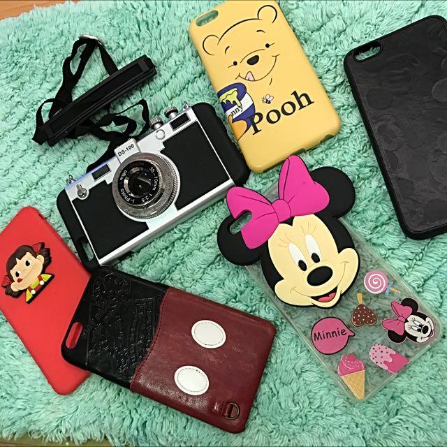 迪士尼維尼.米奇米妮相機6plus手機殼