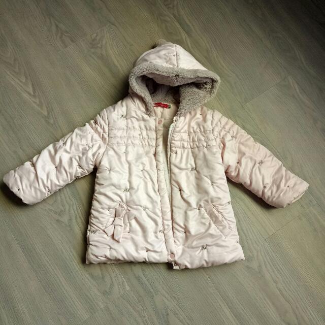 幼童防風鋪棉保暖外套