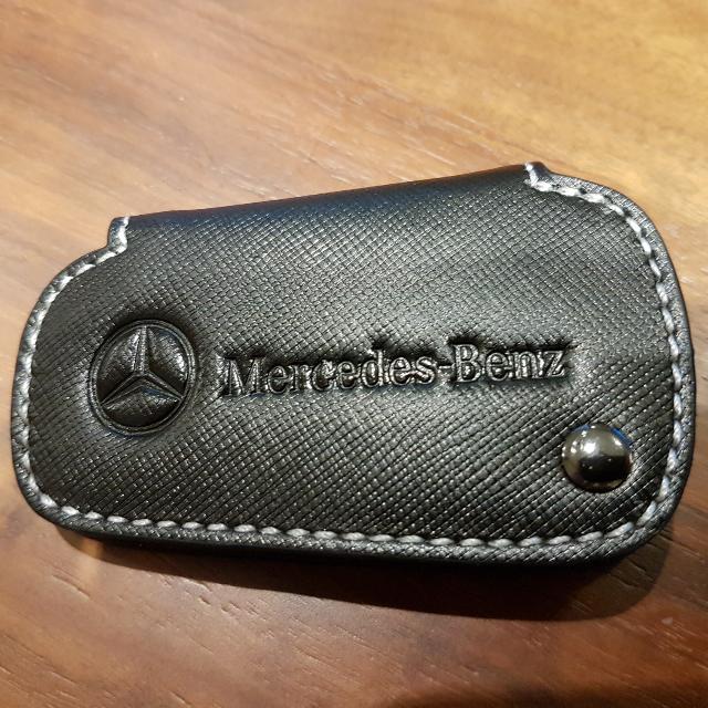 全新賓士原廠鑰匙套
