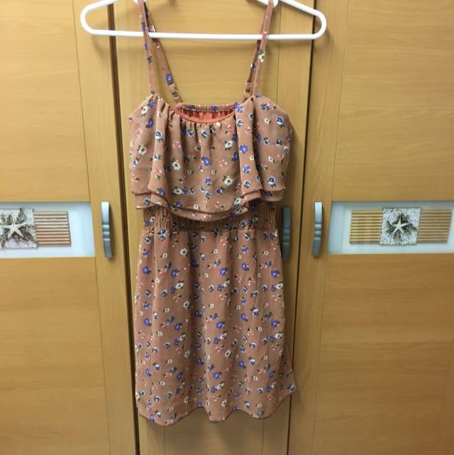 背心 花洋裝