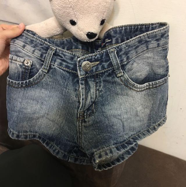 牛仔短褲 熱褲