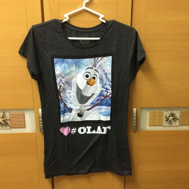 迪士尼 冰雪奇緣上衣/T-shirt
