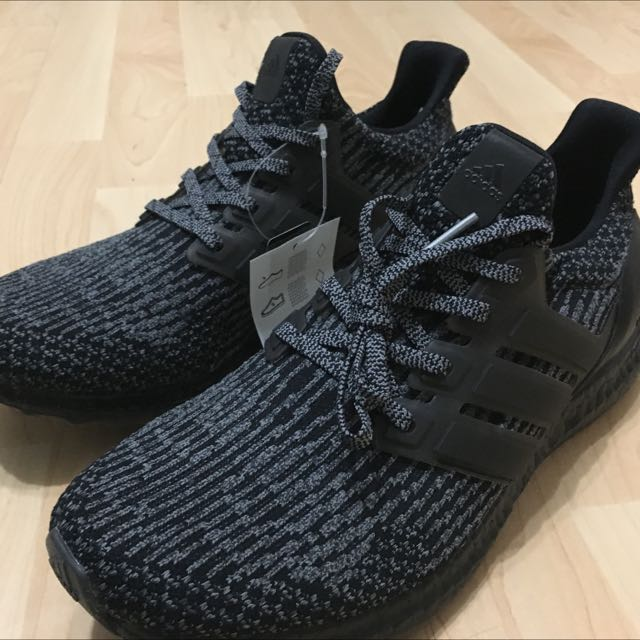 new arrivals 8c71a e0ed9 Adidas Ultra Boost Triple Black Silver BA8923