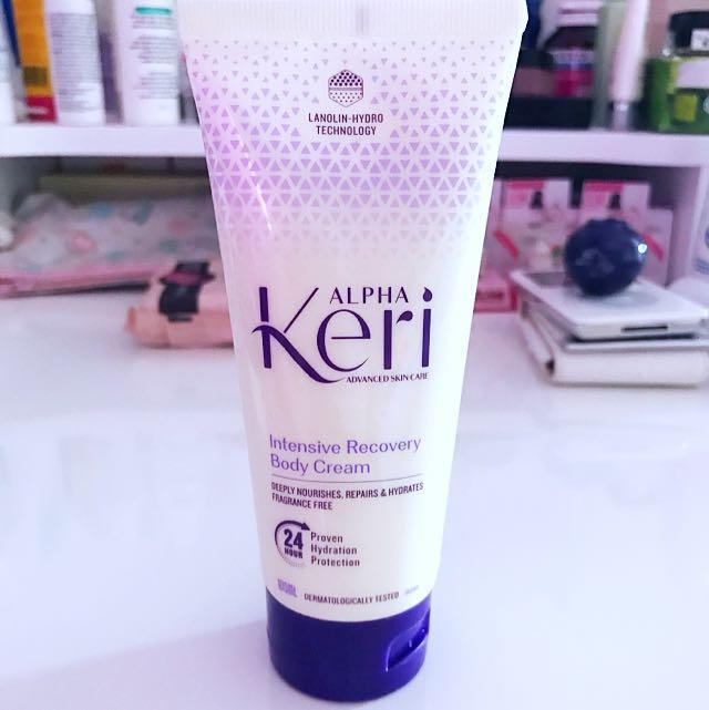 🆕ALPHA Keri Intensive Recovery Body Cream 100mL