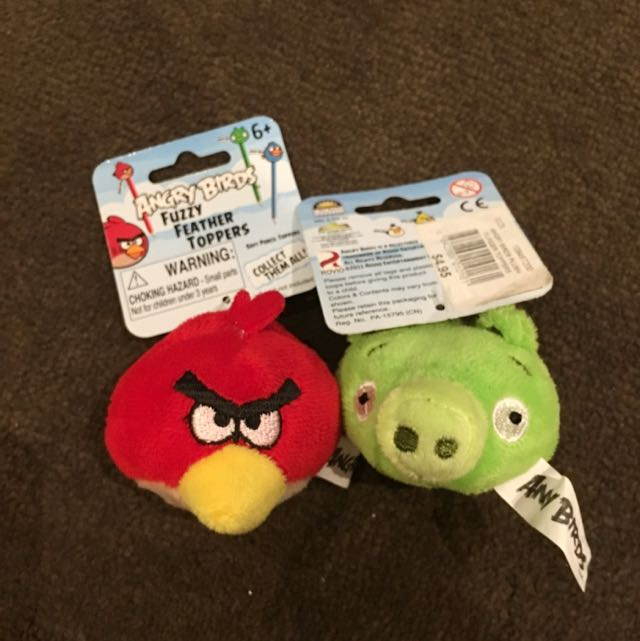 Angry Bird Finger Toys